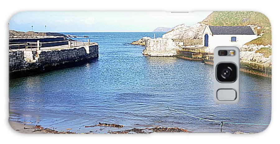 Ballintoy Harbour Galaxy S8 Case featuring the photograph Ballintoy Harbour by John Hughes