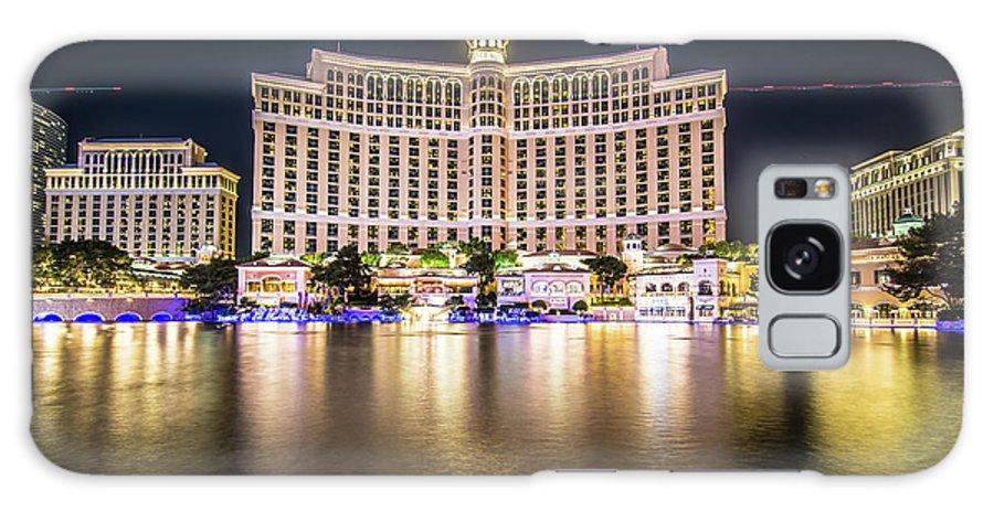 Nevada Galaxy S8 Case featuring the photograph Bellagio Hotel On Nov, 2017 In Las Vegas, Nevada,usa. Bellagio I by Alex Grichenko