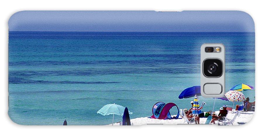 Blue Mountain Beach Galaxy S8 Case featuring the photograph Blue Mountain Beach by Thomas R Fletcher
