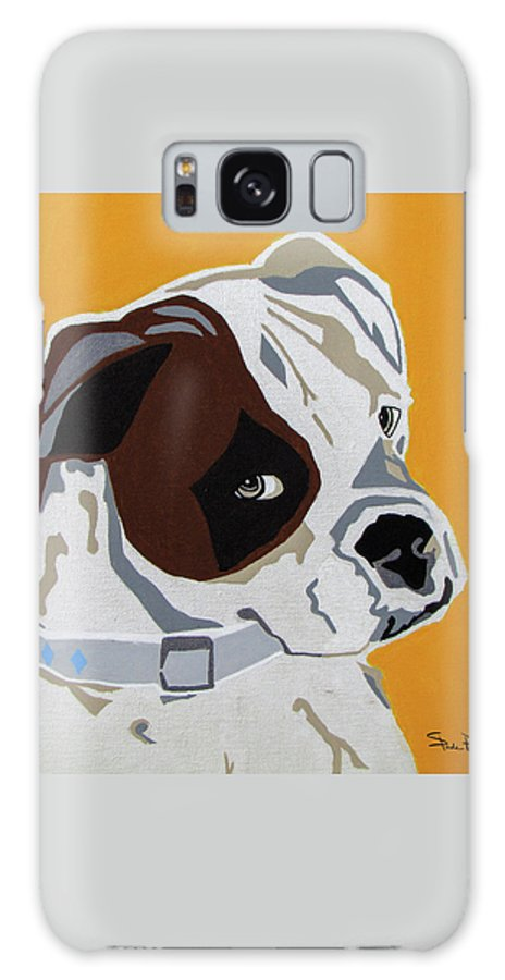 Boxer Galaxy S8 Case featuring the painting Boxer by Slade Roberts
