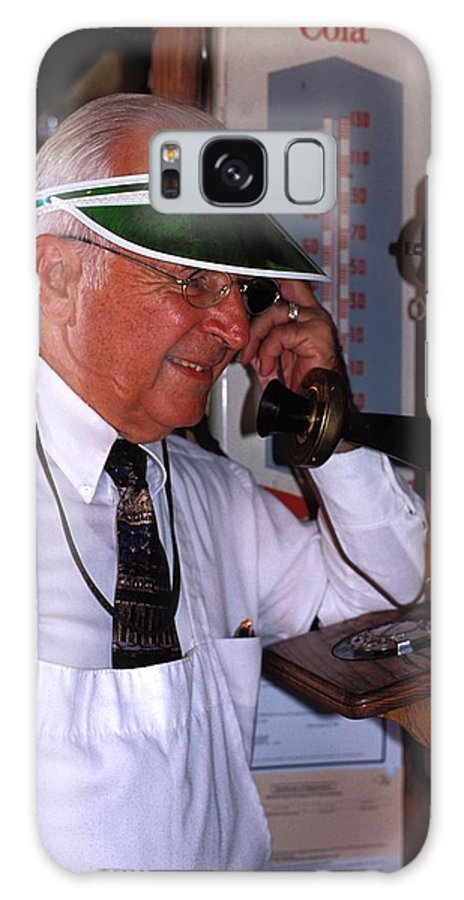 Old Fashioned Galaxy S8 Case featuring the photograph Can You Hear Me Now by Carl Purcell
