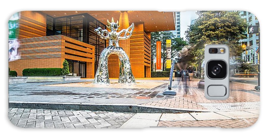 Charlotte Galaxy S8 Case featuring the photograph Charlotte North Carolina Street Scenes Early Morning by Alex Grichenko
