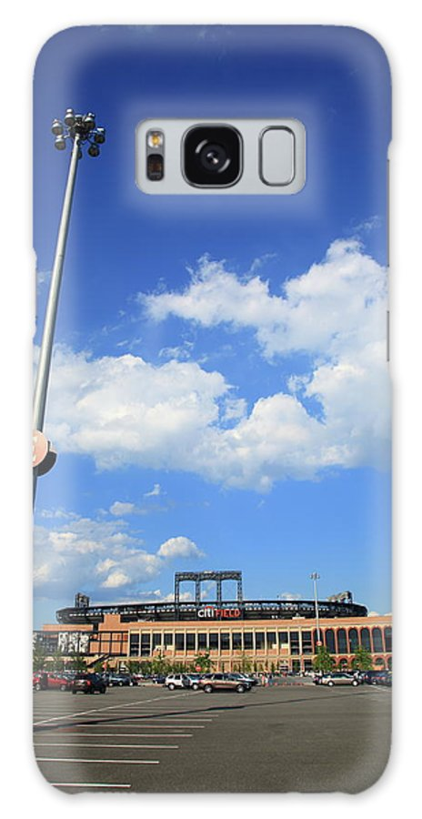 America Galaxy S8 Case featuring the photograph Citi Field - New York Mets by Frank Romeo