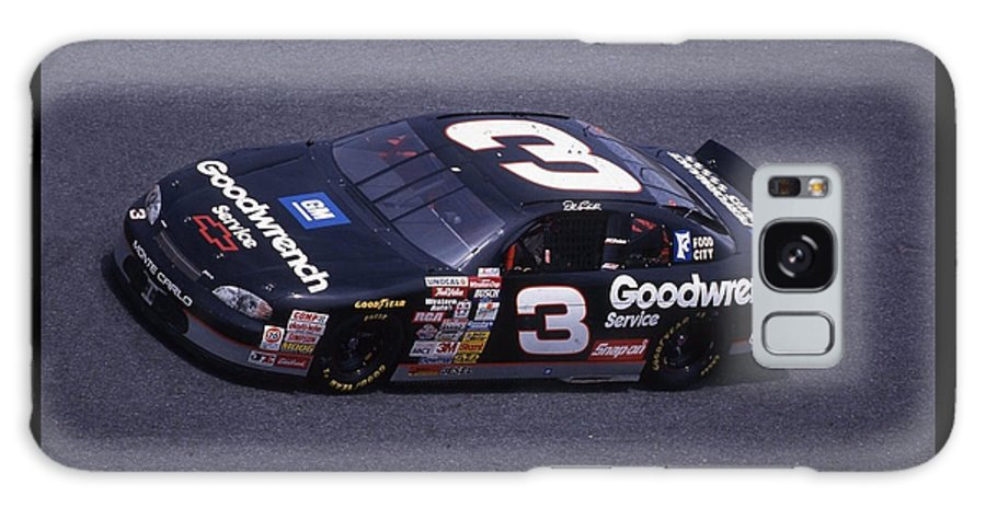 Dale Earnhardt Galaxy S8 Case featuring the photograph Dale Earnhardt # 3 Goodwrench Chevrolet At Daytona by David Bryant