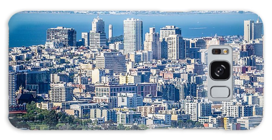 Downtown Galaxy S8 Case featuring the photograph Downtown San Francisco City Street Scenes And Surroundings by Alex Grichenko