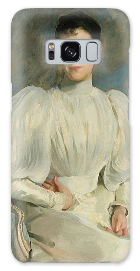 John Singer Sargent 1856 - 1925 Elsie Wagg Galaxy S8 Case featuring the painting Elsie Wagg by John Singer