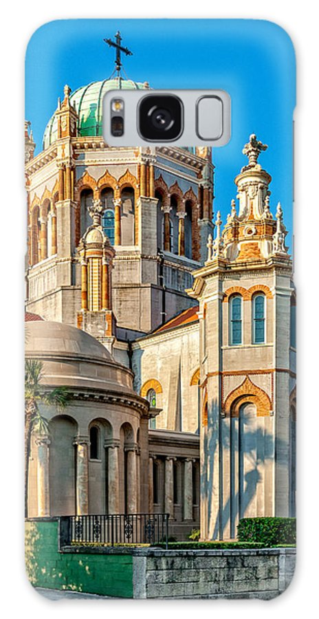 Structure Galaxy S8 Case featuring the photograph Flagler Memorial Presbyterian Church 3 by Christopher Holmes