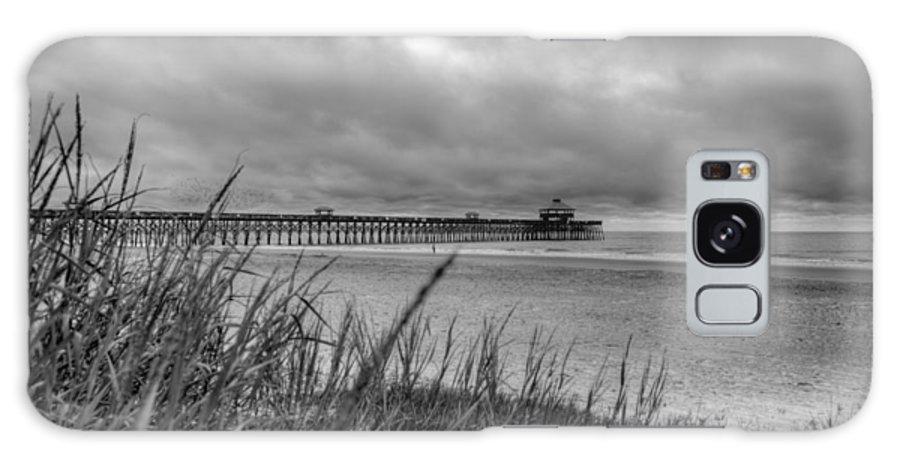 Folly Beach Galaxy S8 Case featuring the photograph Folly Beach Pier by Dustin K Ryan