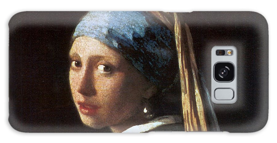 Jan Vermeer Galaxy S8 Case featuring the photograph Girl With A Pearl Earring by Jan Vermeer