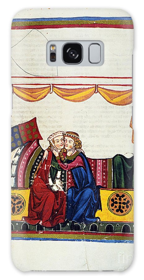 14th Century Galaxy S8 Case featuring the photograph Heidelberg Lieder, 14th C by Granger
