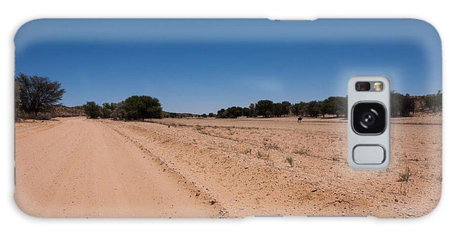 Kalahari Desert Galaxy S8 Case featuring the photograph Kgalagadi by Davide Guidolin