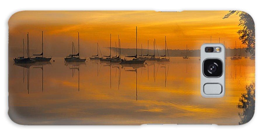 Lake Massabesic Galaxy S8 Case featuring the photograph Lake Massabesic - Auburn New Hampshire Usa by Erin Paul Donovan