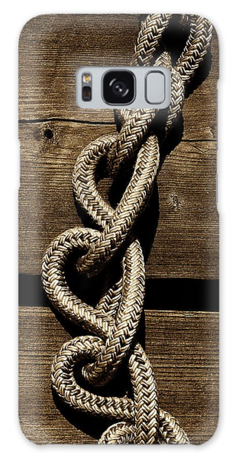 Deck Galaxy S8 Case featuring the photograph Love Knots by David Patterson