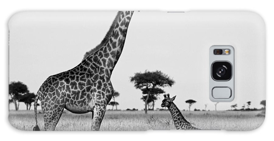Africa Galaxy S8 Case featuring the photograph Meet My Little One by Michele Burgess