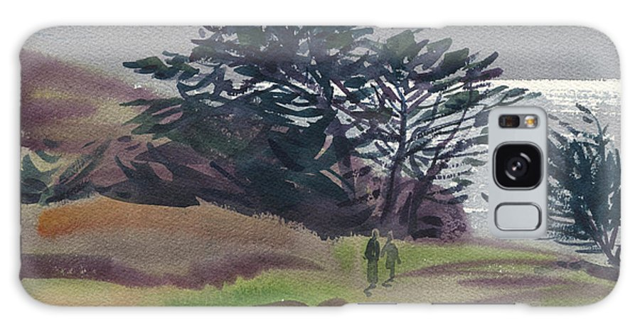 Plein Air Galaxy Case featuring the painting Miramonte Point 1 by Donald Maier