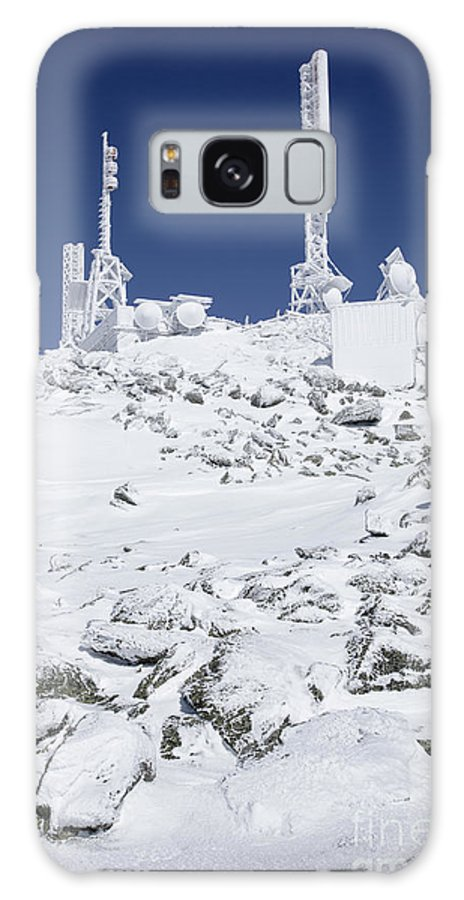 Hike Galaxy S8 Case featuring the photograph Mount Washington State Park - White Mountains New Hampshire Usa by Erin Paul Donovan