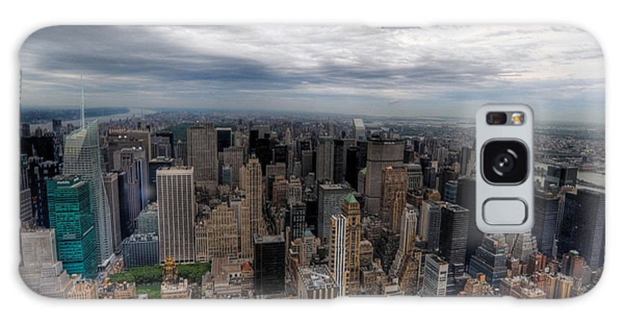 New York City Galaxy S8 Case featuring the photograph New York New York by Don Mennig
