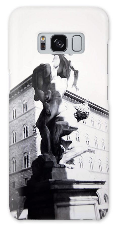 Florence Galaxy Case featuring the photograph Palazzo Vecchio by Kurt Hausmann