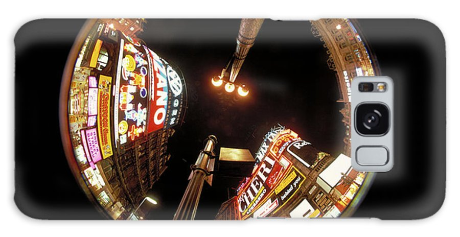 Piccadilly Circus Galaxy S8 Case featuring the photograph Piccadilly Circus In London by Carl Purcell