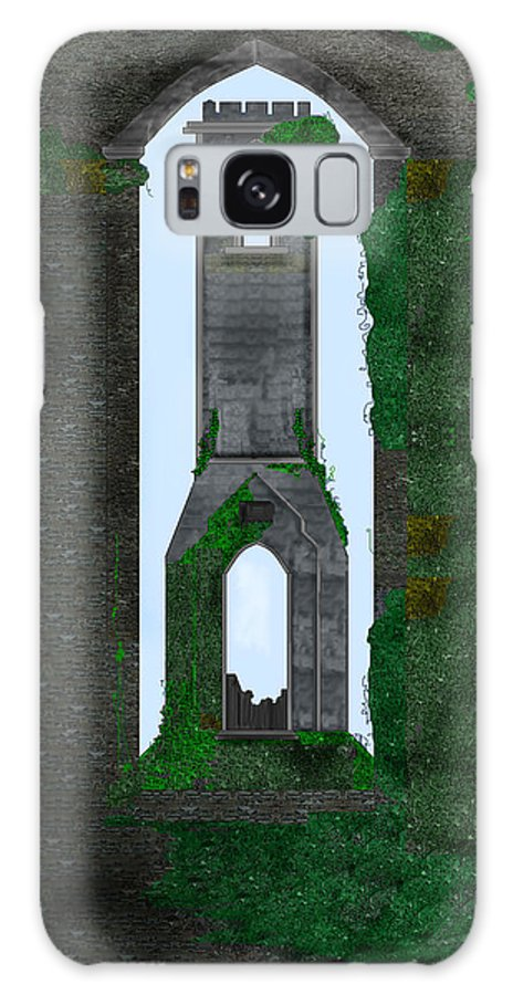 Ireland Galaxy S8 Case featuring the painting Quint Arches In Ireland by Anne Norskog