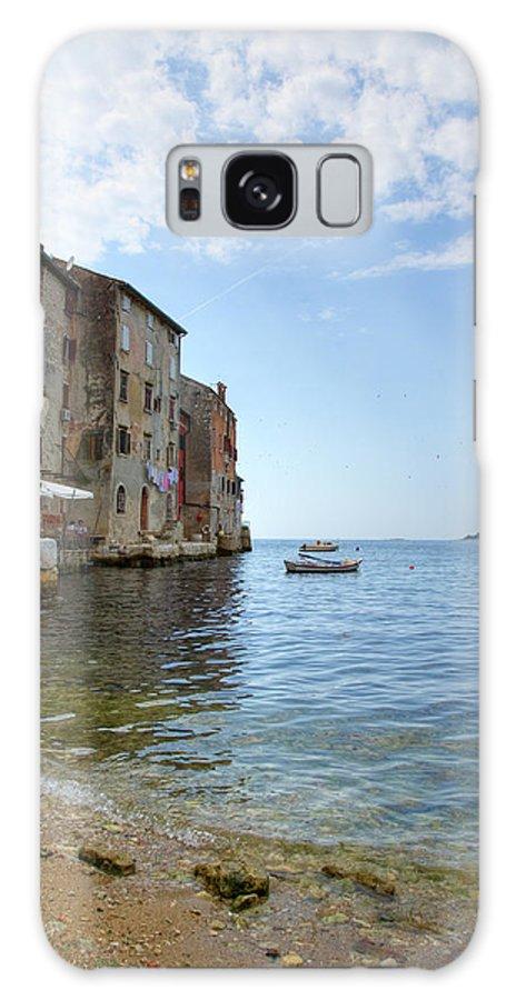 Croatia Galaxy S8 Case featuring the photograph Rovinj by Ian Middleton