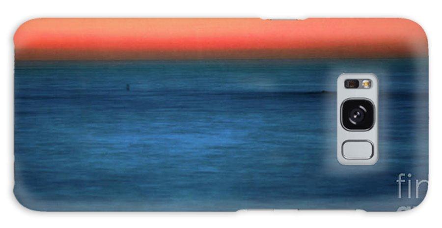 Santa Monica Galaxy S8 Case featuring the photograph Santa Monica Sunset 1 by Doug Sturgess