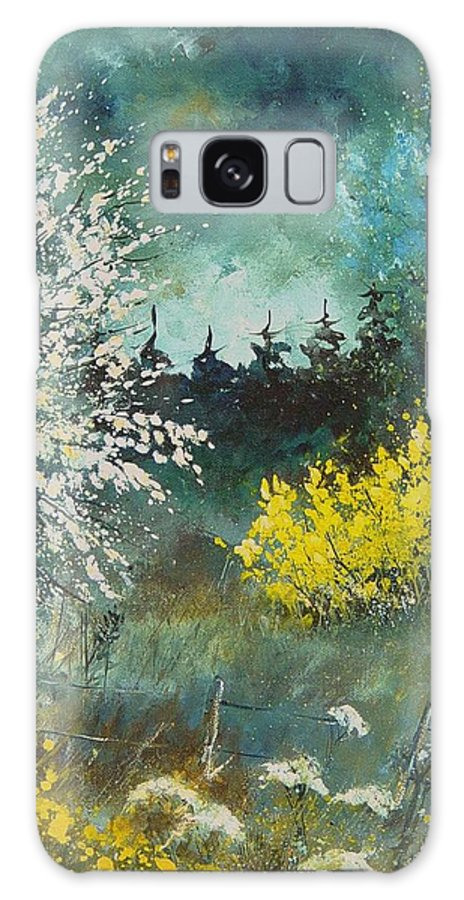 Spring Galaxy Case featuring the painting Spring by Pol Ledent