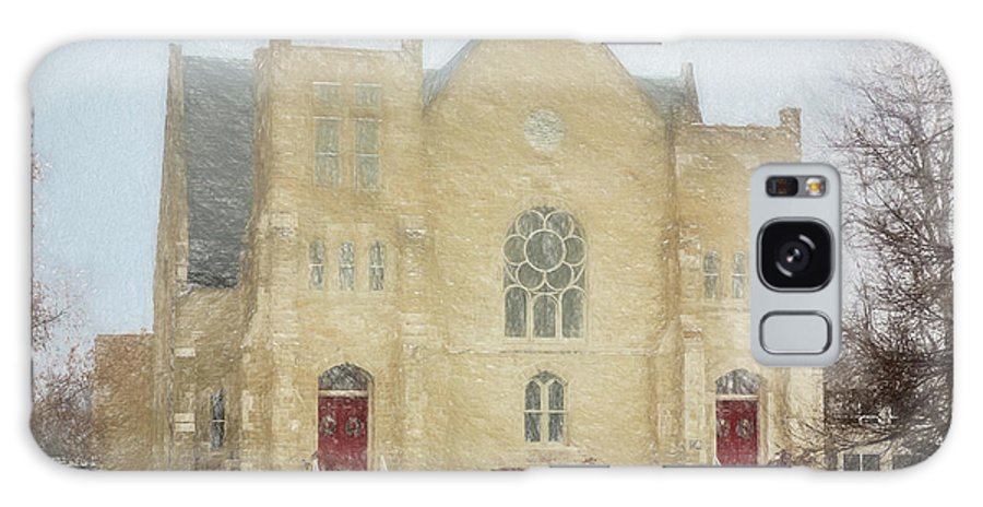 Stone Church Galaxy S8 Case featuring the photograph The Old Church by Carolyn Fox