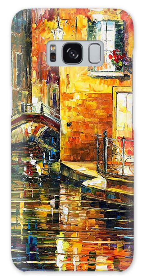 Afremov Galaxy S8 Case featuring the painting Venice by Leonid Afremov