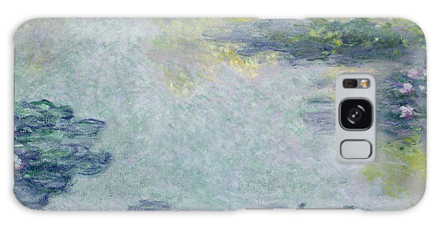 Waterlilies Galaxy S8 Case featuring the painting Waterlilies by Claude Monet