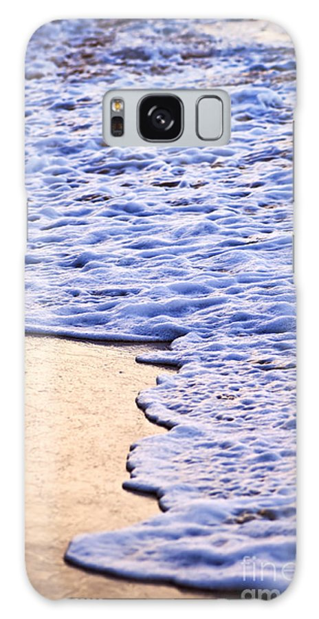 Caribbean Galaxy S8 Case featuring the photograph Waves Breaking On Tropical Shore by Elena Elisseeva