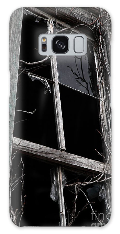 Windows Galaxy Case featuring the photograph Window by Amanda Barcon