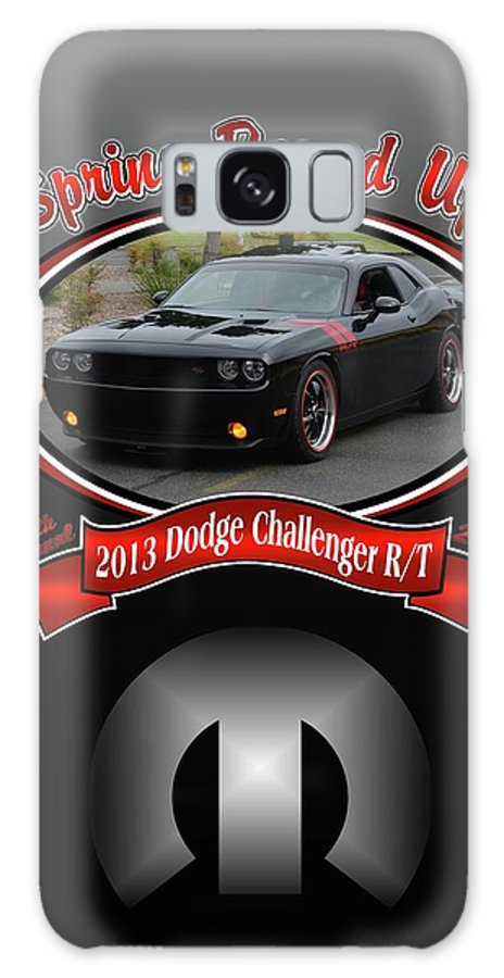 2013 Galaxy S8 Case featuring the photograph 2013 Dodge Challenger Rt Wheeler by Mobile Event Photo Car Show Photography