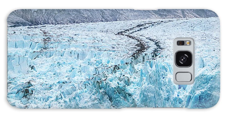 Arm Galaxy S8 Case featuring the photograph Sawyer Glacier At Tracy Arm Fjord In Alaska Panhandle by Alex Grichenko
