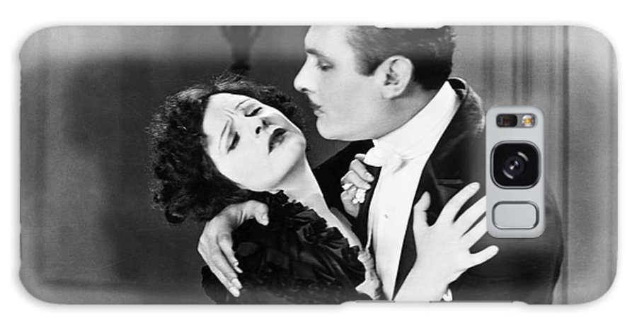-couples- Galaxy S8 Case featuring the photograph Silent Film Still: Couples by Granger