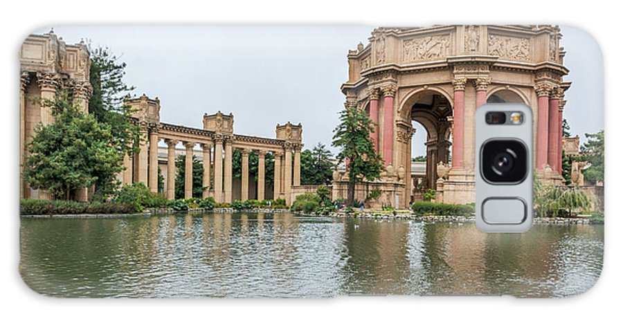Palace Of Fine Arts Galaxy S8 Case featuring the photograph 2464- Palace Of Fine Arts by David Lange