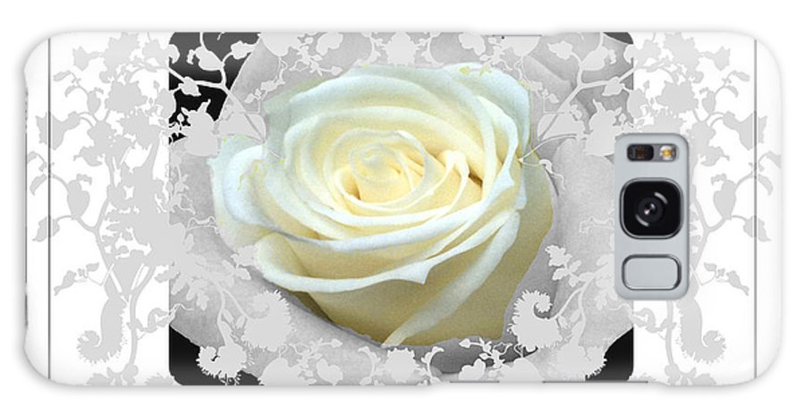 Rose And Lace Galaxy S8 Case featuring the photograph Wedding Rose Collection by Debra   Vatalaro
