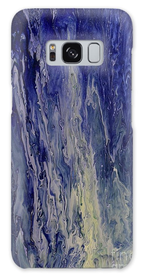 Liquid Galaxy S8 Case featuring the painting Acid Rain by Brion McMaster