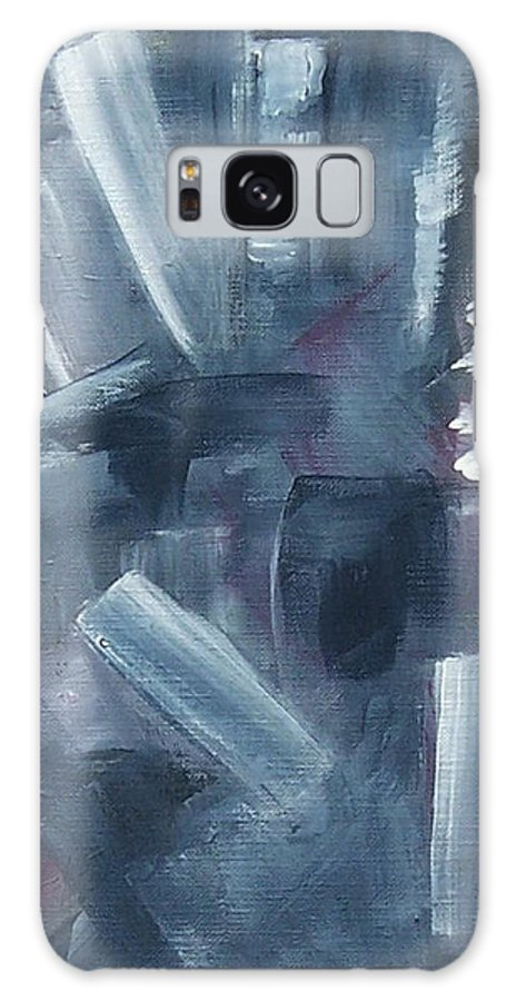 Abstract Galaxy S8 Case featuring the painting After Hours by Karen Day-Vath