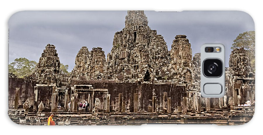 12th Century Galaxy S8 Case featuring the photograph Angkor Wat by Juergen Held