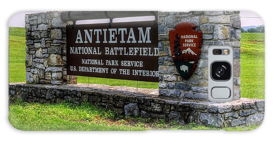Antietam Battlefield National Park Galaxy S8 Case featuring the photograph Antietam Battlefield National Park by Paul James Bannerman