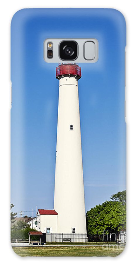 Cape May Galaxy S8 Case featuring the photograph Cape May Lighthouse by John Greim