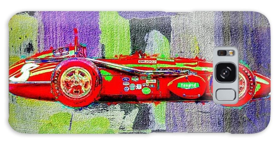 Sportscar Galaxy Case featuring the photograph #car #sportscar #racecar #nascar by David Haskett II