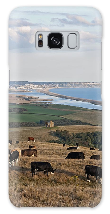 Chesil Beach Galaxy S8 Case featuring the photograph Chesil Beach by Graham Custance