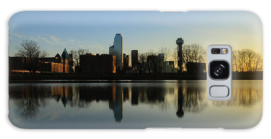 Landscapes Galaxy S8 Case featuring the photograph city of Dallas by Tinjoe Mbugus