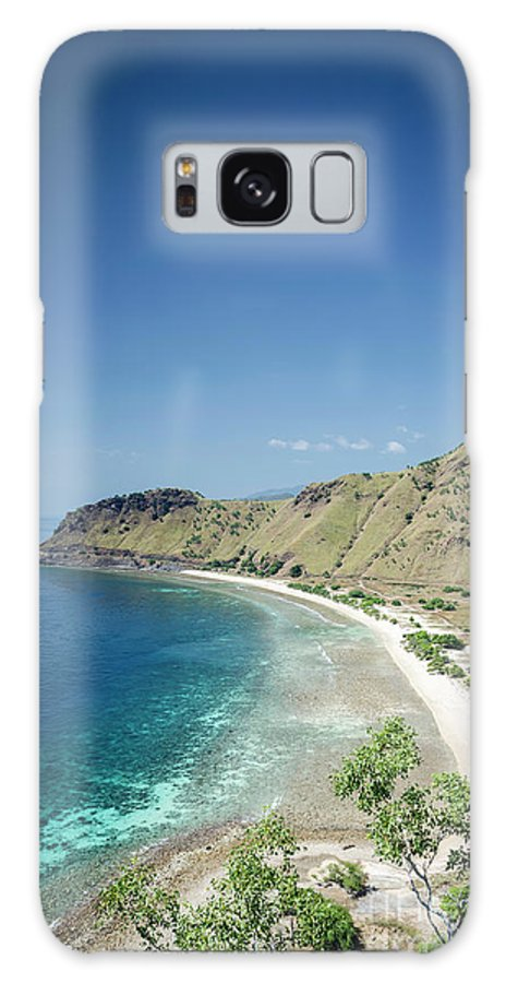 Area Galaxy S8 Case featuring the photograph Coast And Beach View Near Dili In East Timor Leste by Jacek Malipan