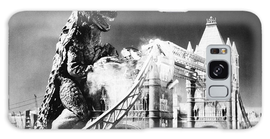 20th Century Galaxy Case featuring the photograph Godzilla by Granger