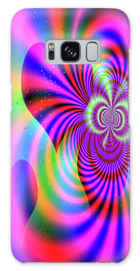 Greeting Cards Galaxy S8 Case featuring the digital art Heart Of Hearts by Mitchell Watrous