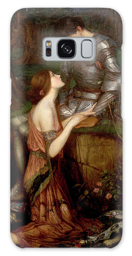 Lamia Galaxy Case featuring the painting Lamia by John William Waterhouse