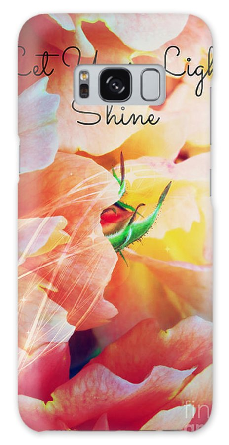 Let Your Light Shine Galaxy S8 Case featuring the photograph Let Your Light Shine by Carol Groenen